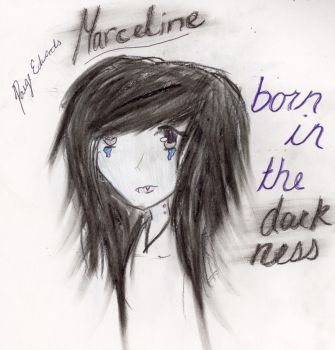 Marceline Born in the darkness by paigelovesanime