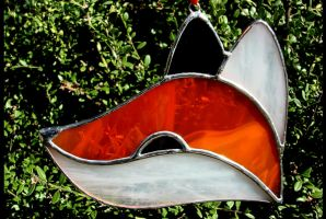Stained Glass Little Fox by bigblued