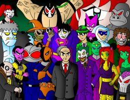 The Legion of Doom by streetgals9000