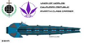 Cylaurin Anarthi Class Carrier by EmperorMyric
