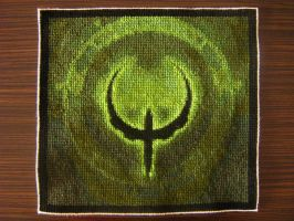 Quake - cross stich by ti4h5mh