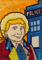 Doctor Who Sketch Cards 6 by WombatOne