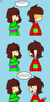 Frisk and Chara's CPAU #1 by GalaxyGal-11