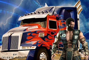 Sub-zero and Optimus: Let's roll by celtakerthebest