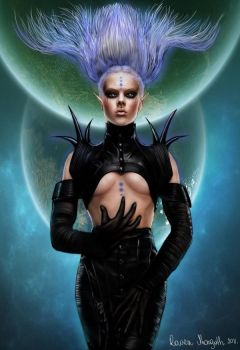 Space Empress by RavenMorgoth