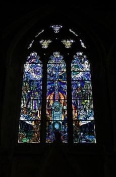Stained glass window2 by NickiStock