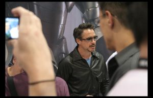 Robert Downey Jr. at ComiCon by Fathomous
