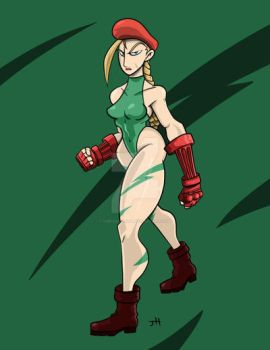 Cammy White by omegalbagel