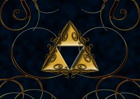 triforce wallpaper by Darla-Illara
