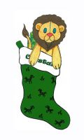Lion stocking by Skychaser