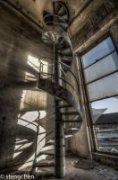 Twisted Stairs by stengchen