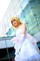 Kagamine Rin - White Magnet... by cure-pain