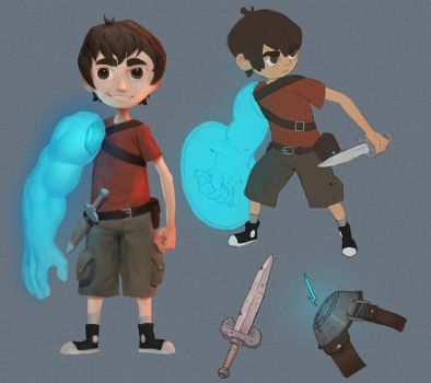 The kid (concept idea) by Cameli36
