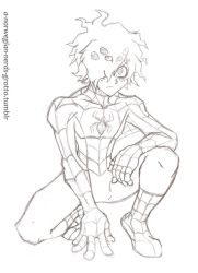 The Spectacular Spider-Deku by emotwo