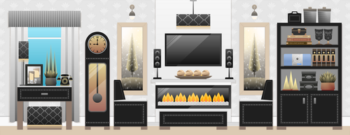 Living Room by Viscious-Speed