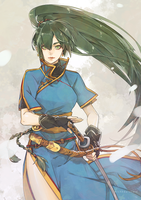 Lyndis by wickedalucard