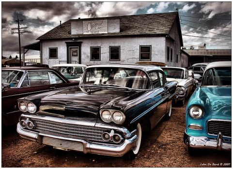Nothin But Sky and Chevy's 2 by kkart