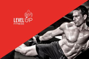 LevelUP Fitness Logo Design by neroxtm