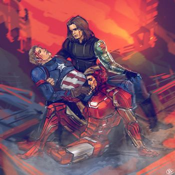 Captain America - Civil War by maXKennedy