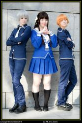 Fruits Basket  uneasy triangle by Firiless