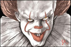 Pennywise by Solla-Damian