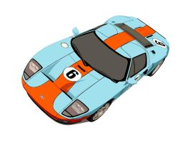 Ford GT Heritage by shunann