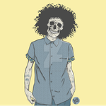 HipsterSkull by Brizzolatto55