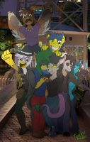 Friends from my darkness age by TEZCATL-AYAUHTLI