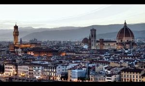 ...Florence Evening... by erhansasmaz
