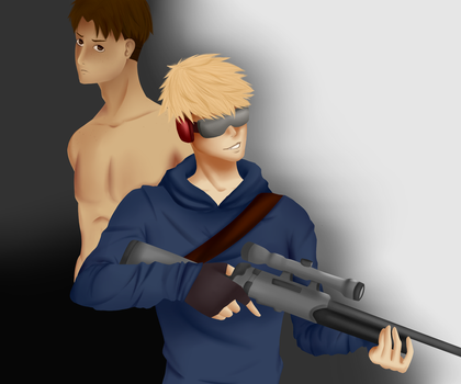 JeanMarco, Meister and Weapon by UchihaAngela