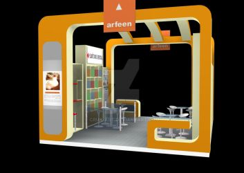 Exhibition Stand Designs by crux-art