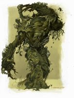 Beast from the Bog by calebcleveland