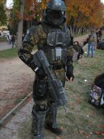 ODST Cosplay - Lucca Comics by Capestranus