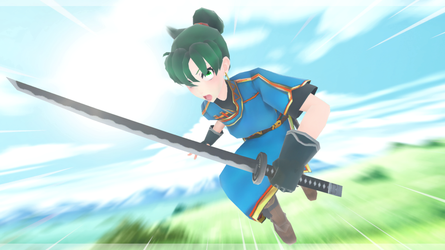 |MMD|FE7| ''Now I have you!'' by universal--kun