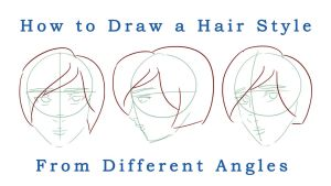Video (Drawing Hair From Different Angles) by MsArtGarden