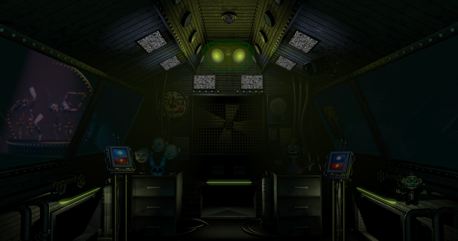 Primary Control Module after FNAF:SL by DeviManX
