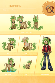 Petrichor Reference Sheet by Centchi