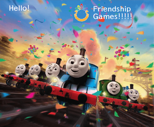 Thomas and friends are joining The Games! by penajo007