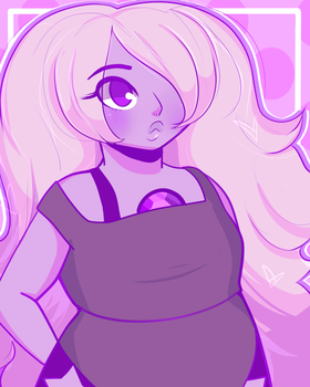 Amethyst by niadraws