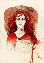 Melisandre of Asshai by elia-illustration