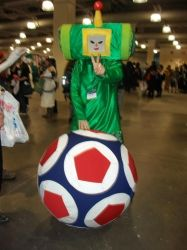 Katamari Damacy cosplay by KaibaKitty