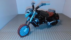 Motorcycle transformer (bike mode) by sideshowOfMadness