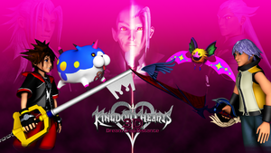 Kingdom Hearts 3D Wallpaper by TheRPGPlayer