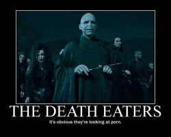 Death Eaters Poster by Eveskk