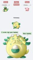 Victreesey - Pokemon Fusion