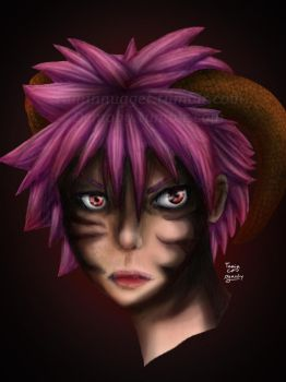 Realistic End Natsu by TaminFury