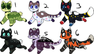 Set Price Cat Batch #3 (4/6 OPEN) by MBWAdopts
