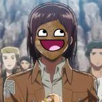 The True Face Of Sasha (attack on titan) by ShadowRaptor89