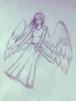 Angel sketch by Captain-Zeko