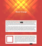 Blood Orange : Collab by Ikue